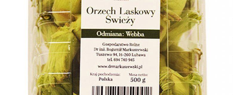 Orzech Laskowy Świeży: Webba